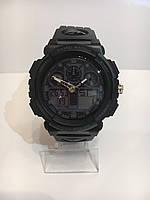 Мужские спортивные водостойкие часы SKMEI (Скмей), черный ( код: IBW165B ), фото 1
