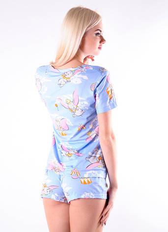 Молодежная пижама со слониками, фото 2