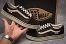 Кроссовки мужские  Vans Old Skool, коричневые (11037) размеры в наличии ► [  43 44  ], фото 2