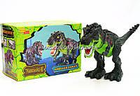 Динозавр «Super Power» (ходит, издает реалистические звуки)- 2 цвета Зеленый
