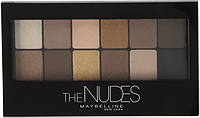 Палетка теней для глаз MAYBELLINE Eyeshadow The Nudes Palette