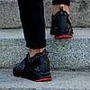 """Мужские кроссовки Puma Ignite EvoKnit Lo Pavement """"Black/Gray/Rad"""" (Пума) черные, фото 5"""