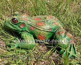 Садовая фигура Жаба речная, фото 2