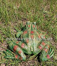 Садовая фигура Жаба речная, фото 3