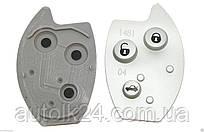 Кнопки для выкидного ключа CITROEN С5, С8, Xsara 3 кнопки