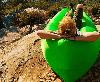 Ламзак Надувной лежак, lamzac - Салатовый, фото 6