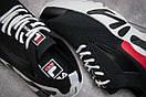Кроссовки женские  Fila Mino One, черные (13671) размеры в наличии ► [  36 37,5 38 40  ], фото 6