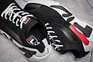 Кроссовки мужские  Fila Mino One, черные (13681) размеры в наличии ► [  42 (последняя пара)  ], фото 6