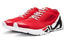 Кроссовки мужские  Fila Mino One, красные (13682) размеры в наличии ► [  44 45  ], фото 7