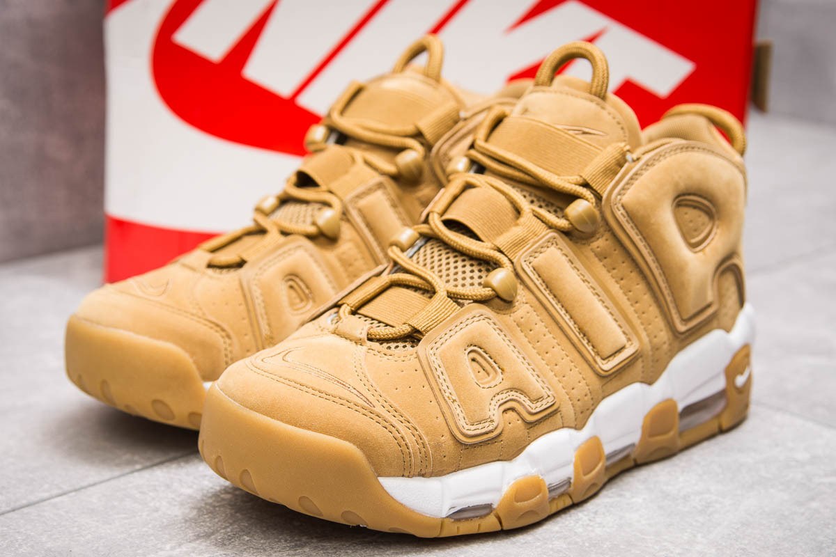 Кроссовки мужские Nike More Uptempo, песочные (13911) размеры в наличии ► [  43 (последняя пара)  ]
