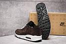 Кроссовки мужские Nike Air Max, коричневые (1060-6) размеры в наличии ► [  44 (последняя пара)  ], фото 4