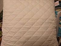 Подушка стеганая в чехле(микрофибра +холлофайбер)
