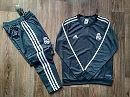 Детский костюм тренировочный Реал Мадрид 2018-2019 черный