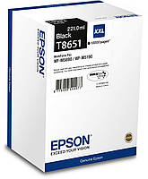 Картридж EPSON WF-M5190/ WF-M5690 black original  (10 000 стр) (C13T865140)