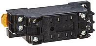 Колодка панелька PYF08A крепления реле Omron MY2 на DIN-рейку