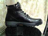 Стильные кожаные зимние ботинки под берцы Madoks