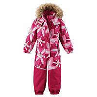 Зимний комбинезон для девочки Reimatec 520230-3606. Размеры 92 - 104.