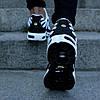 "Мужские кроссовки Nike Air Max Tn+ ""White/Black"" (Найк Аир Макс ТН Плюс) белые, фото 5"