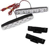 Дневные ходовые огни, 2х12Вт, DRL LED в корпусе