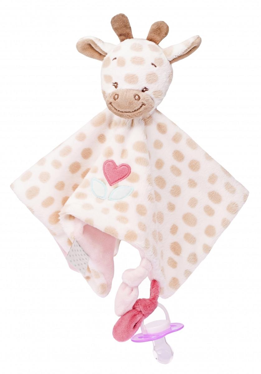 Nattou - Мягкая игрушка-кукла жираф Шарлотта