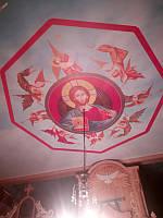 Спас Нерукотворный - натяжной потолок в крыше