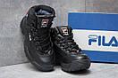 Зимние ботинки  на меху Fila Disruptor 2 High, черные (30191) размеры в наличии ► [  37 (последняя пара)  ], фото 3