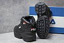 Зимние ботинки  на меху Fila Disruptor 2 High, черные (30191) размеры в наличии ► [  37 (последняя пара)  ], фото 4