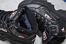 Зимние ботинки  на меху Fila Disruptor 2 High, черные (30191) размеры в наличии ► [  37 (последняя пара)  ], фото 6