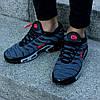 "Мужские кроссовки Nike Air Max Tn+ ""Grey/Red"" (Найк Аир Макс ТН Плюс) серые, фото 2"