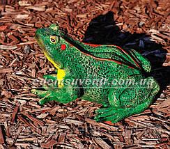 Садовая фигура Лягушка озерная, фото 2