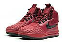 Зимние ботинки  на мехуNike LF1 Duckboot, бордовые (30402) размеры в наличии ► [  42 (последняя пара)  ], фото 7