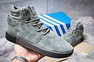 Зимние кроссовки  на мехуAdidas Tubular Invader Strap, серые (30443) размеры в наличии ► [  45 (последняя пара)  ], фото 2