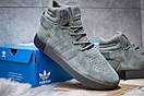 Зимние кроссовки  на мехуAdidas Tubular Invader Strap, серые (30443) размеры в наличии ► [  45 (последняя пара)  ], фото 5