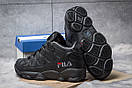 Зимние кроссовки  на меху Fila Spaghetti, черные (30461) размеры в наличии ► [  41 42  ], фото 4
