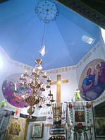 Сводная часть храма с натяжным потолком, фото 1