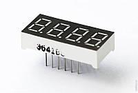 4-разрядный 7-сегментный индикатор 0.56'' красный 12pin катод Arduino