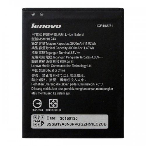 Lenovo A7000, K3 Note (K50-T5) акумулятор батарея BL243 оригінал 3000mAh Li-polymer