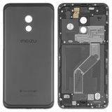 Задня кришка для смартфону Meizu Pro 6, чорна