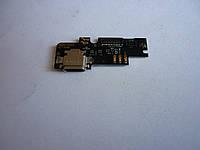 Шлейф / плата зарядки для Xiaomi Mi4c  з мікрофоном, конектором зарядки
