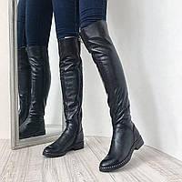 Ботфорты на каблуке в Украине. Сравнить цены 3949d1b260603