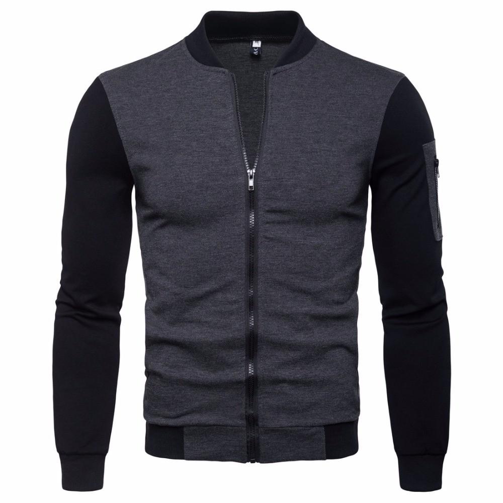 Модная мужская куртка демисезонная: весна-осень! Двухцветная куртка на молнии!