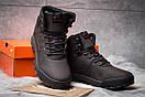 Зимние ботинки  на мехуNike LunRidge, коричневые (30522) размеры в наличии ► [  41 42 44 45  ], фото 3