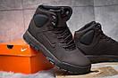 Зимние ботинки  на мехуNike LunRidge, коричневые (30522) размеры в наличии ► [  41 42 44 45  ], фото 5