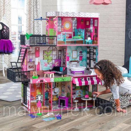 Интерактивный кукольный домик KidKraft 65922 «Brooklyn's Loft»