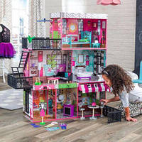 Интерактивный кукольный домик KidKraft 65922 «Brooklyn's Loft», фото 1