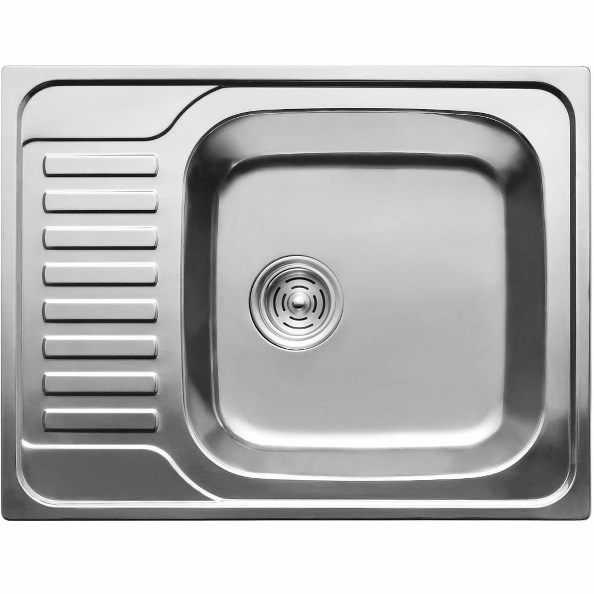 Кухонная мойка из нержавеющей стали ULA 7202 ZS decor 08mm
