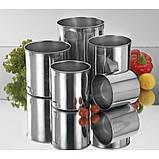 Набір з 5 сталевих кухлів Empire EM-0982, фото 2