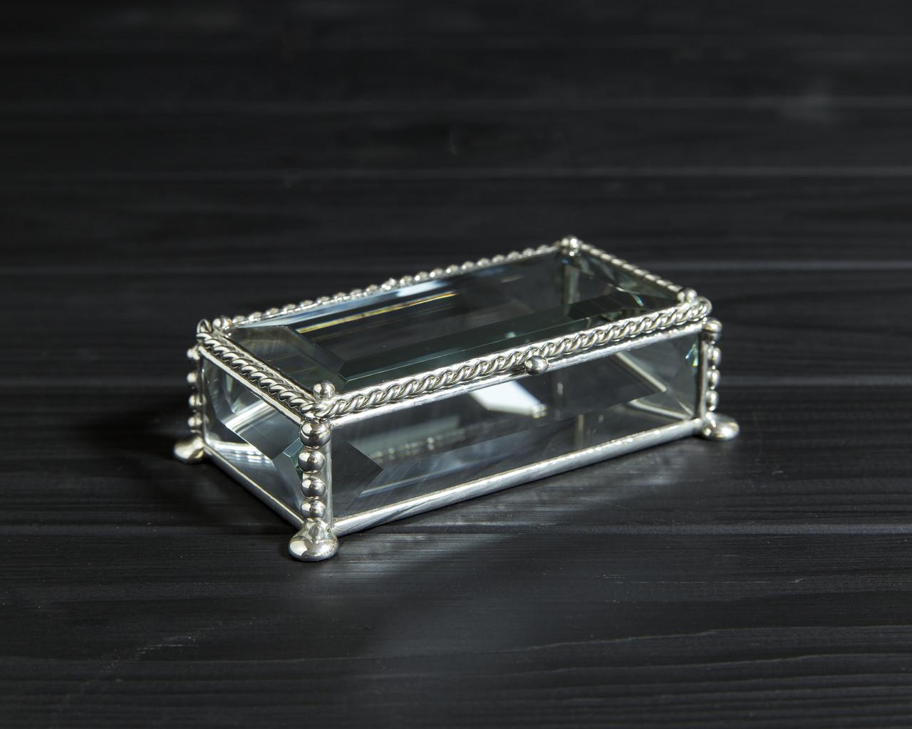 Шкатулка для украшений 100х50х25