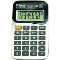 Калькулятор Kenko 323A, карманный размер, память значений, металлическое покрытие