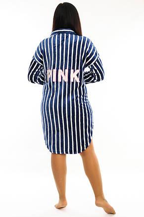 Женский махровый халат, фото 2
